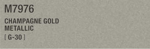 CHAMPAGNE GOLD METALLIC M7976 G-30