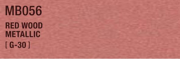 RED WOOD METALLIC MB056 G-30