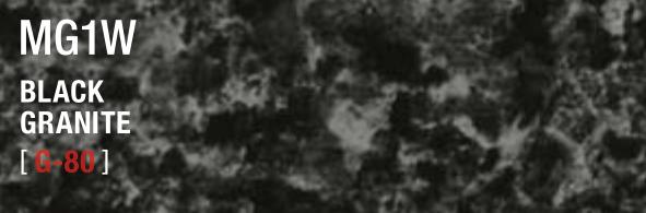 BLACK GRANITE MG1W G-80
