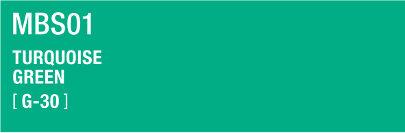 TURQUOISE GREEN MBS01 G-30