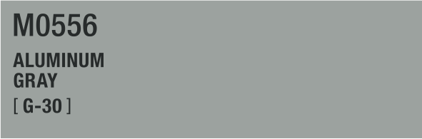 ALUMINUM GRAY M0556 G-30