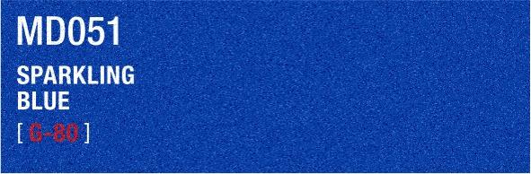 SPARKLING BLUE MD051 G-80