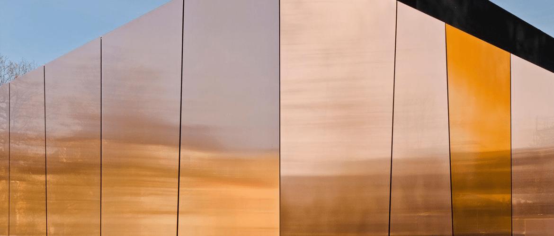Мідні композитні панелі ALPOLIC/fr CCM
