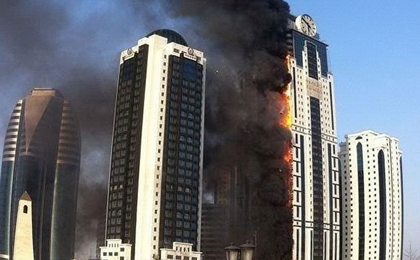 Причины возгорания вентилируемых фасадов