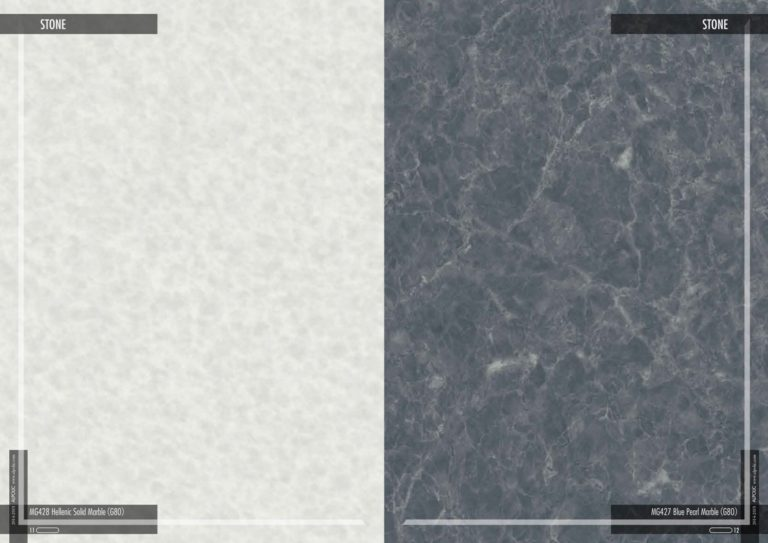 Фасадні панелі Алполік під еллінський твердий мармур і чорний перловий мармур