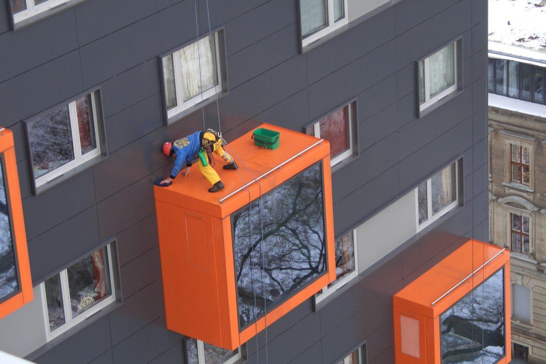 Догляд за фасадом АКП