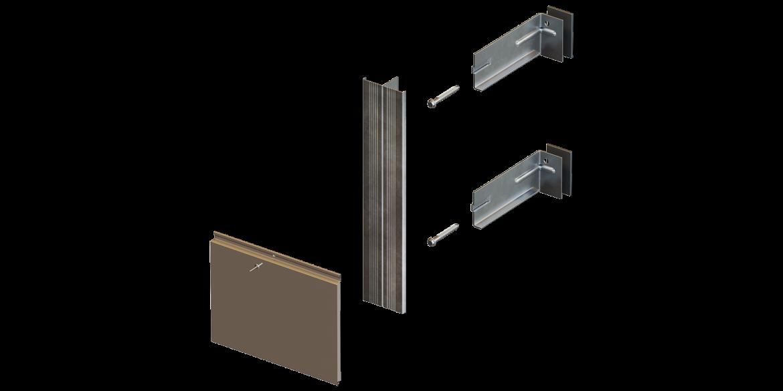 Комплектующие для системы навесного вентилируемого фасада