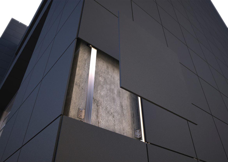 подсистема для навесного фасада