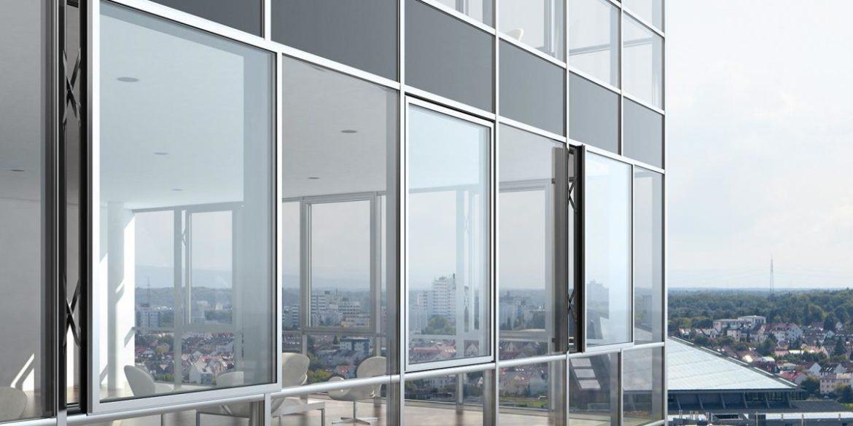 Алюмінієвий профіль для скління балконів і лоджій