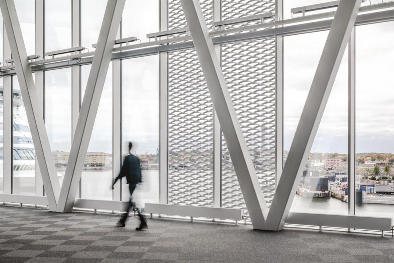 Алюминиевая сетка для фасадов