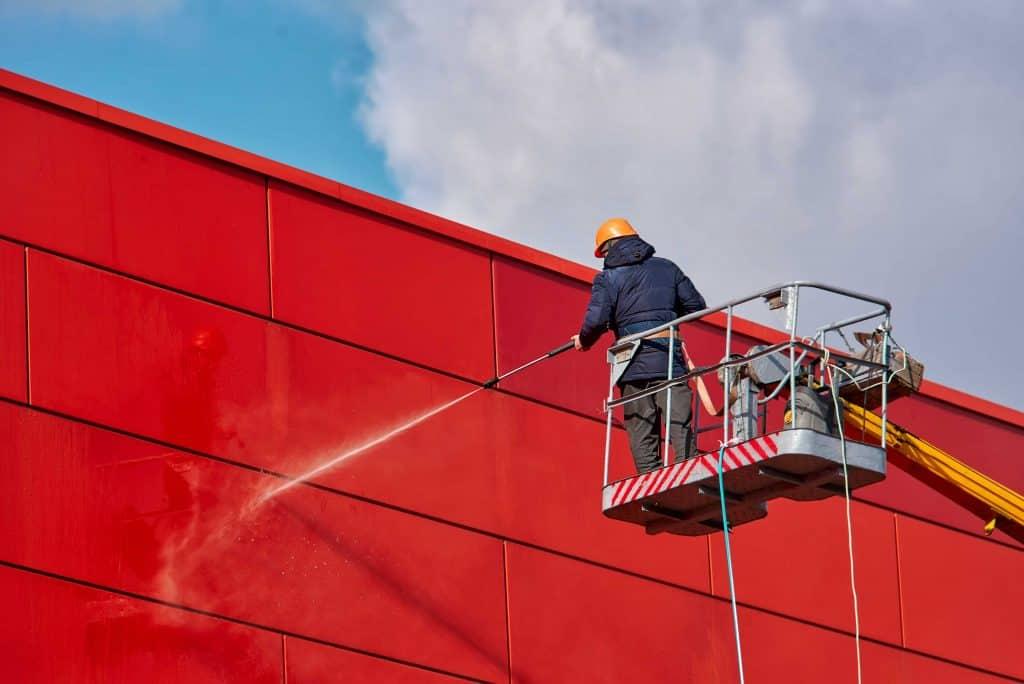 Фінальні роботи при монтажі навісного алюмінієвого фасаду