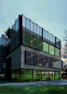 Архитектурные фасадные сетки