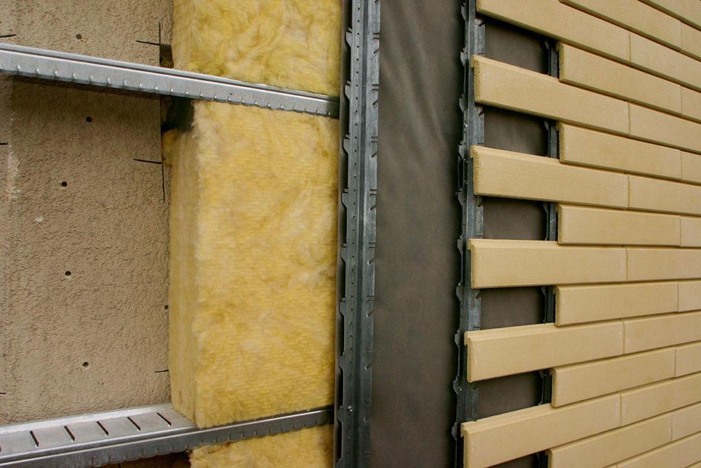 Утеплення алюмінієвого фасаду