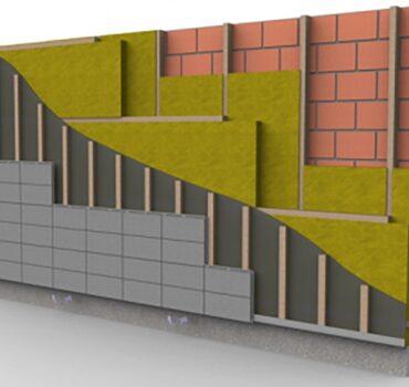 Особенности монтажа навесных фасадных подсистем в коттеджах